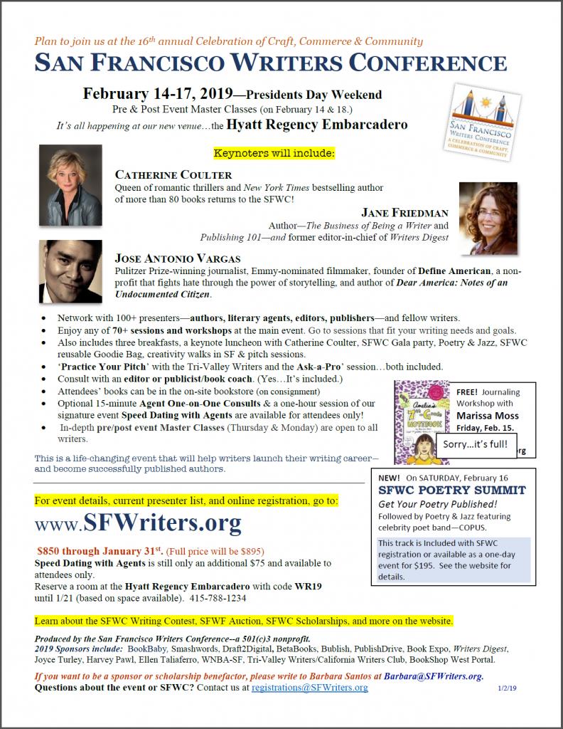 SFWC Flyer 2019