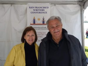 Barb & Rich Santos at Bay Area Book Festival